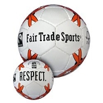 fair trade soccer ball- mini