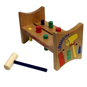 wooden pounder