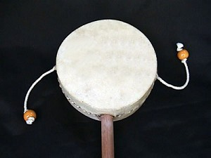 fair trade spinny drum
